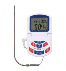 Termometer za pečice z odštevalnikom - beli