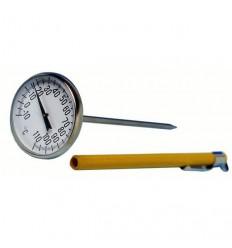 Manjši ploščati termometri za pomoč pri kuhi