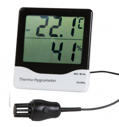 Vlagomer termometer pregledni s sondo