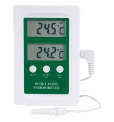 Digitalni termometer notranje in zunanje temperature