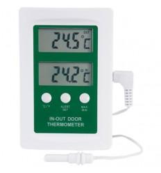 Digitalni termometer notranje in zunanje temperature