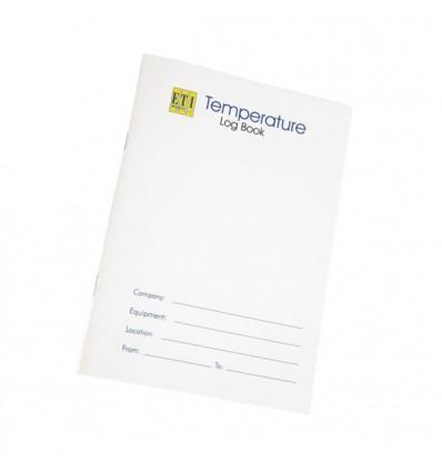 Dnevnik za beleženja temperatur A5